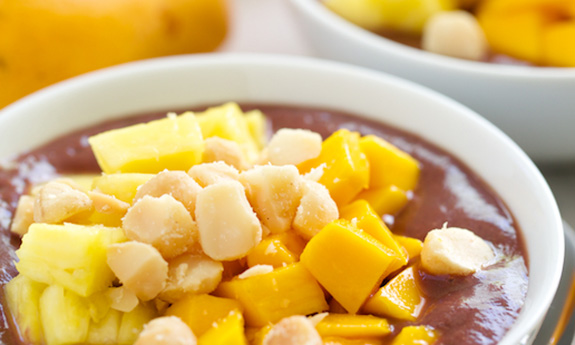 Kauai Acai Smoothie Breakfast Bowls