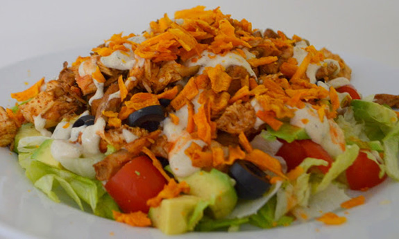 Paleo Chicken Ranch Taco Salad