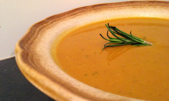 Paleo Curry-Sage Butternut Squash Soup