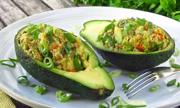 Paleo Stuffed Avocado