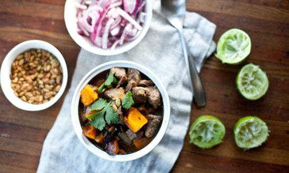 Pork and Butternut Squash Stew