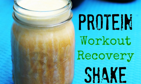 Protein Workout Recovery Shake Using Gelatin