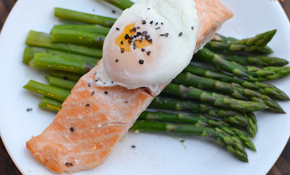 Roasted Salmon with Asparagus