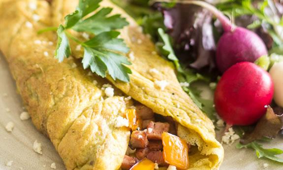 Simple Western Omelette