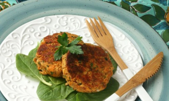 Weeknight Salmon Cakes
