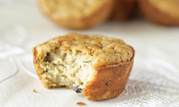 Zucchini-Currant Muffins