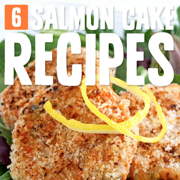 Just try not to eat these salmon cakes all by yourself!