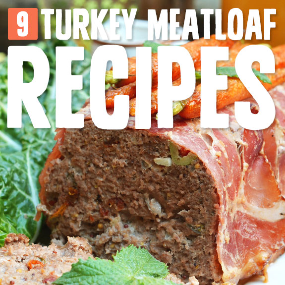 These turkey meatloaf recipes are so much healthier than beef meatloaf, and in my opinion, taste 10 times better!