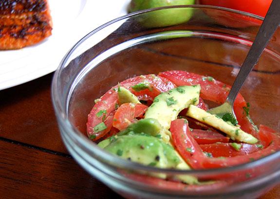 summer tomato salsa