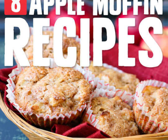 8 Tasty Apple Muffins- for a wholesome treat.