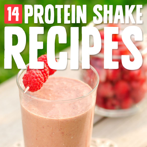 14 Protein Shakes- to help muscles heal.