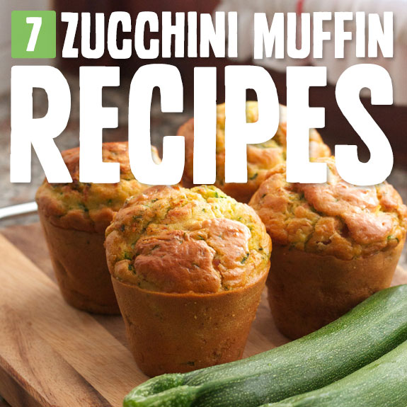 7 Outrageously Good Zucchini Muffins- with baked in veggie goodness.
