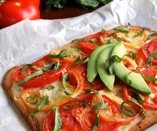 Paleo Tomato Tart- this is such a fresh and super delicious dish! My whole family just loves it.