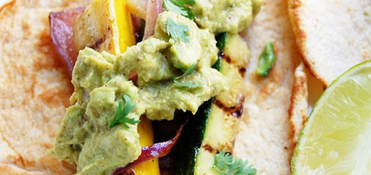 Paleo Vegetarian Tacos- with zucchini, squash and eggplant.