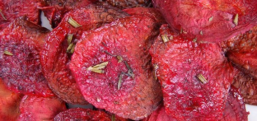 How to Make the Best Baked Beet Chips- one of my favorite Paleo snacks of all-time! My friends are OBSESSED with these.