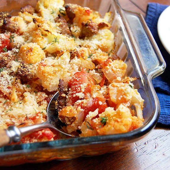 Sausage And Cauliflower Casserole Comforting Amp Delicious