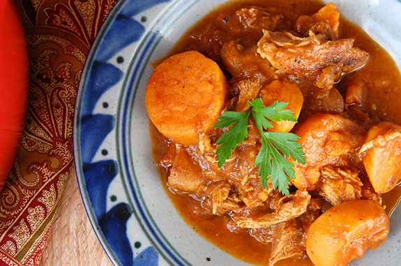 vegetable and chicken stew