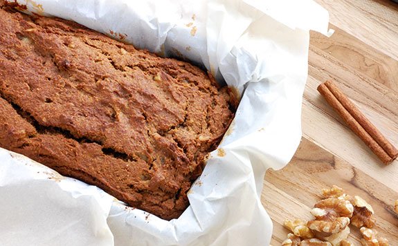 baked banana nut bread
