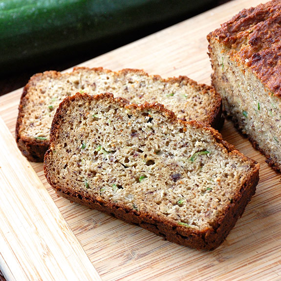 My Favorite Paleo Zucchini Bread- one of my most popular Paleo snacks with my kids and friends!