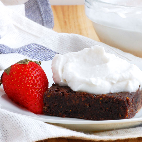 Whipped Coconut Cream- 100x healthier than whipped cream and so much tastier!