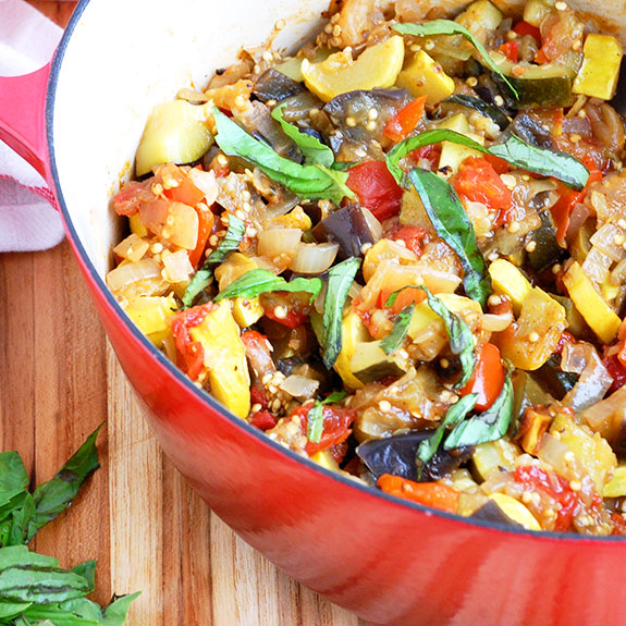 Classic Ratatouille- my favorite recipe for wholesome, vibrant ratatouille.