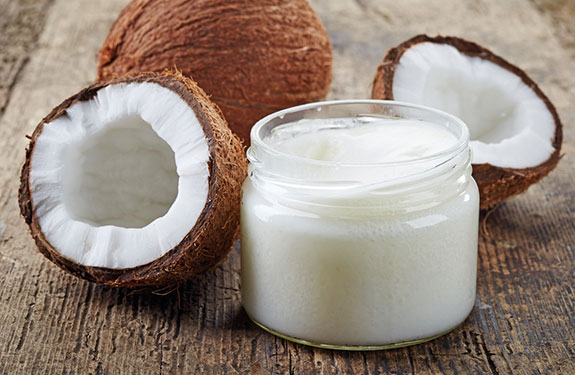 spoon of coconut oil