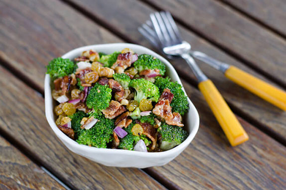bacon broccoli salad recipe
