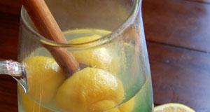 basil iced tea