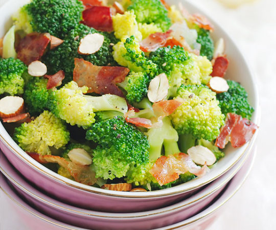 Broccoli salad that you'll crave? It's possible with our amazing recipe that uses the awesome power of crispy bacon to give an old veggie a new flavor that can't be beat.
