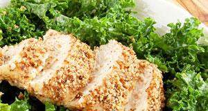 kale ceaser salad