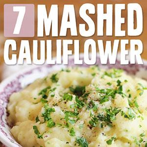 paleo mashed cauliflower
