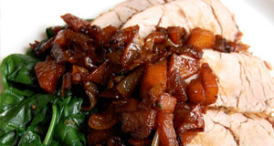 pork tenderloin with apples