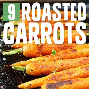 roasted carrot recipes
