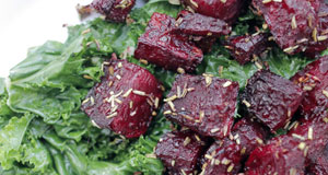 rosemary beets with kale