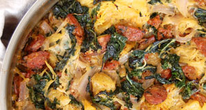sausage and kale casserole