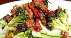 spicy sausage skillet