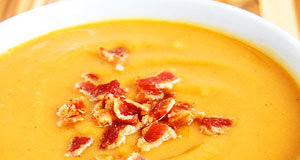 sweet potato and bacon soup