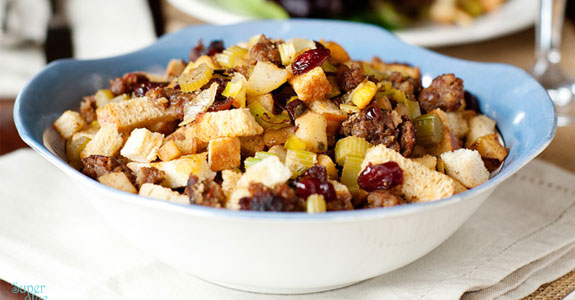 Apple,-Cranberry,-and-Sausage-Stuffing