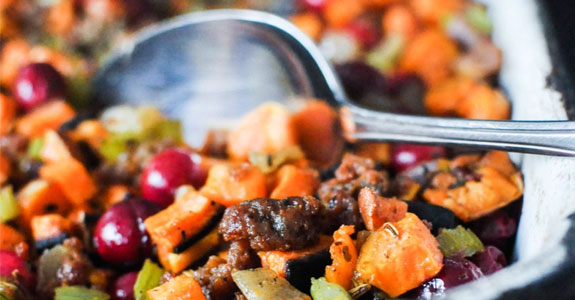 Sweet-Potato-Cranberry-Stuffing