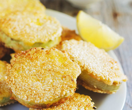You know a dish is good when they name a movie after it! Our fried green tomatoes take an old classic and make it healthier with better, more wholesome ingredients. They are crispy, tangy and delicious!