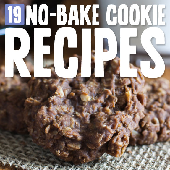 I love no-bake cookies! They are delicious, usually healthier than normal cookies and are so easy to make. Here are my favorites…