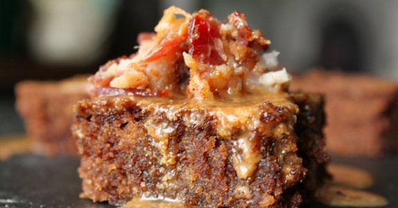 Bacon-Nutella-Brownie-Bites-With-Maple-Cinnamon-Bacon-Glaze