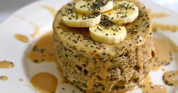 Banana Maple Mug Cake