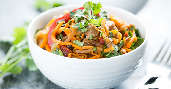 Cajun Sweet Potato Noodles
