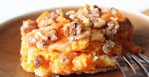 Carrots and Turnips With Honey Pecans