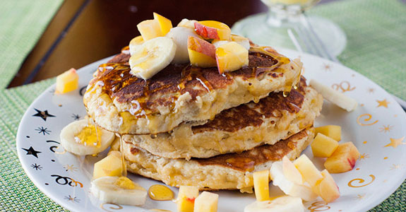 Coconut and Almond Flour Pancakes