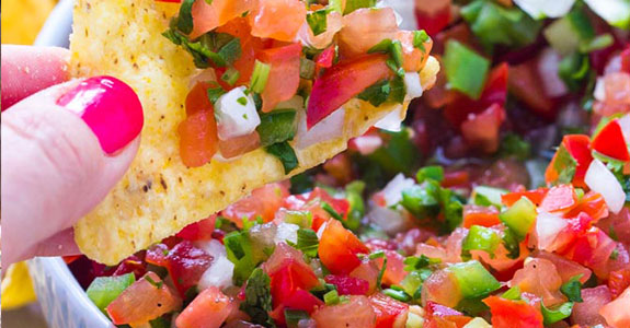 Homemade Fresh Tomato Salsa