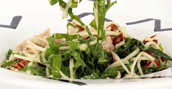 Shredded-Chard-and-Apple-Noodle-Tuna-Salad