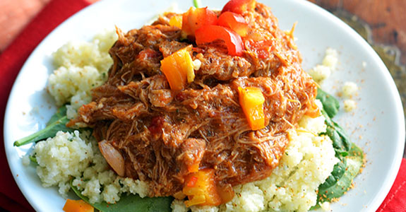 Slow Cooked Creole Pulled Chicken