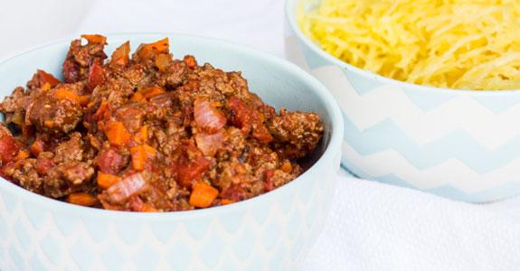 Spaghetti-Squash-and-Chunky-Sauce